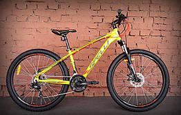 "Велосипед 26"" Spelli SX-2700 зелено-оранжевый 2019"