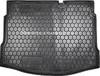 Коврик в багажник Fiat Doblo (2001>) (5м) корот. база без сетки Фиат