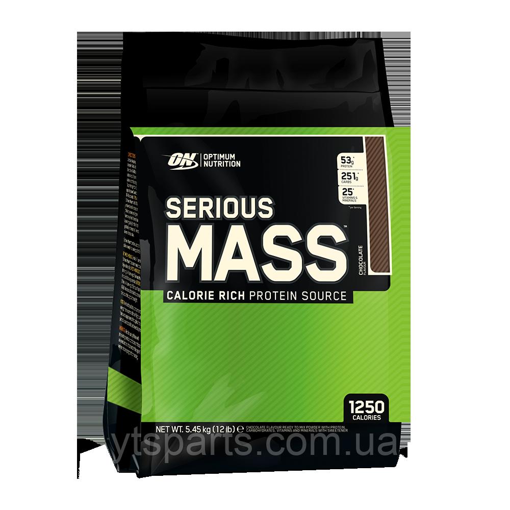 Optimum Nutrition Serious Mass 5.44 kg оптимум нутришн сириус масс