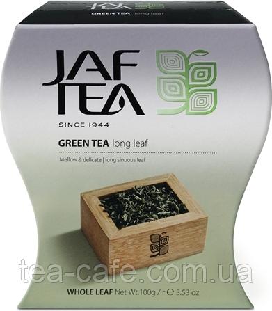 Чай зелений JAF TEA Довгий лист 100 гр.