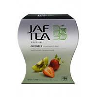 Чай зеленый JAF TEA Клубника и киви 100 гр.