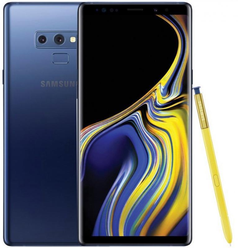 Смартфон Samsung Galaxy Note 9 6/128GB Ocean Blue