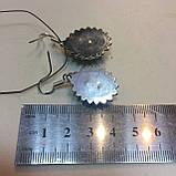 Лунный камень серьги с натуральным лунным камнем адуляр в серебре Индия, фото 7