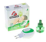 Комплект РАПТОР прибор + жидкость от комаров 30 ночей