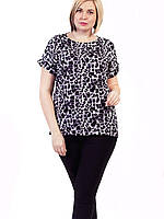 🌺 Женские блузки летние в больших размерах, фото 1