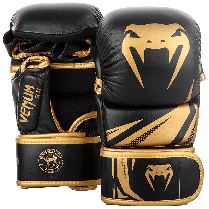 Перчатки ММА Sparring Venum Challenger 3.0 Black/Gold