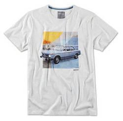 Оригінальна чоловіча футболка BMW 2002 Classic T-Shirt, Men, Grey Melange