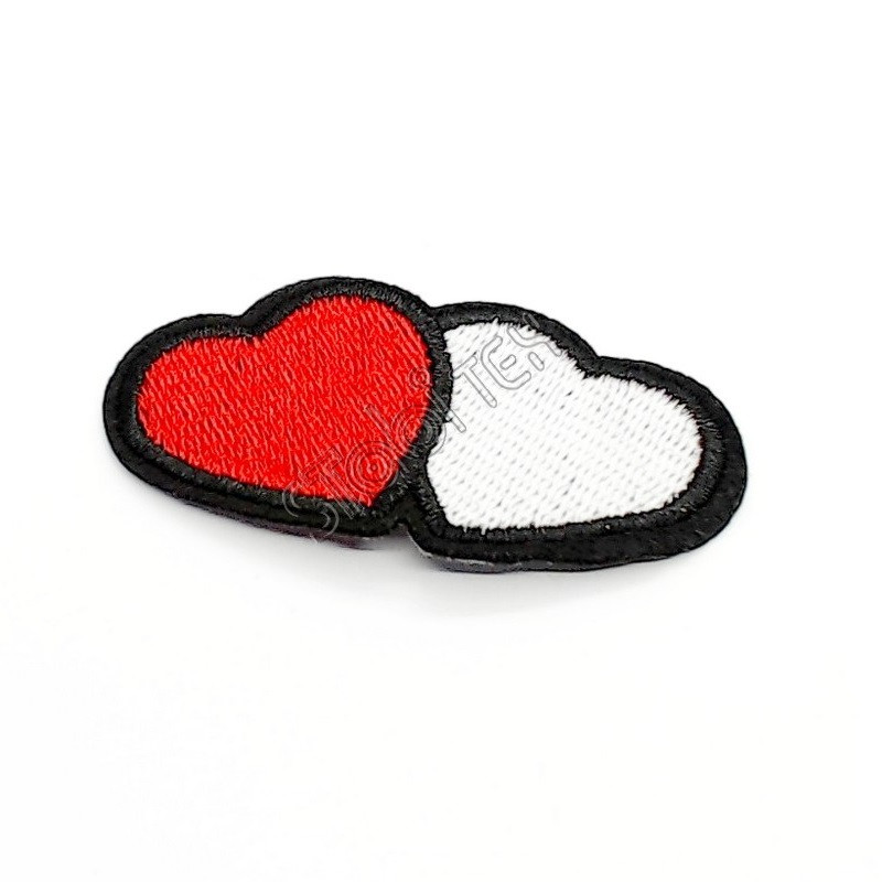 """Термоаппликация """"Два сердца"""""""