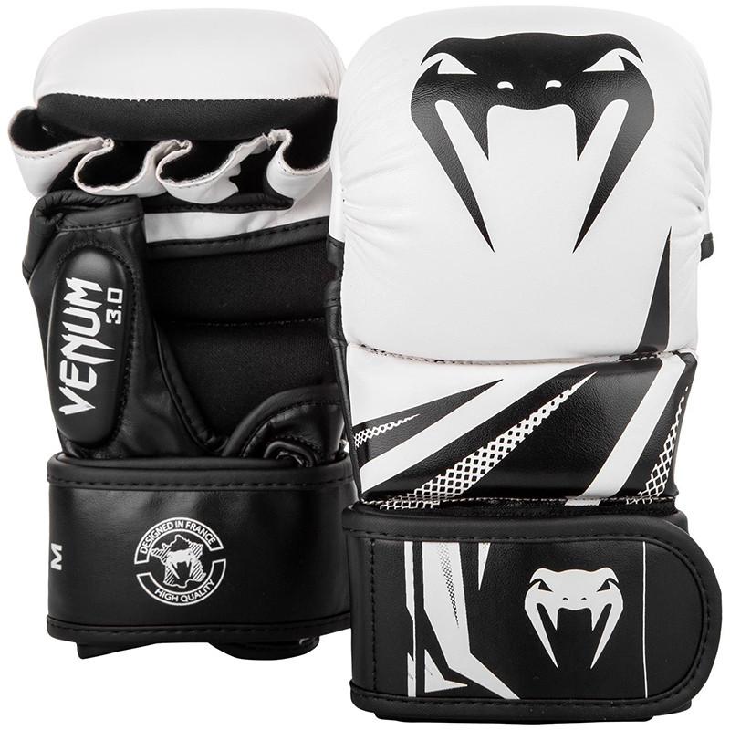 Перчатки ММА Sparring Venum Challenger 3.0 White/Black
