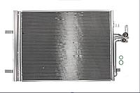 Радиатор кондиционера FORD GALAXY, MONDEO IV, S-MAX; LAND ROVER DISCOVERY SPORT, FREELANDER 2, RANGE ROVER