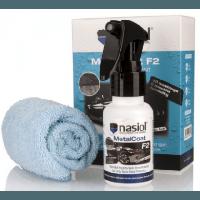 Кварцевое защитное нано-покрытие Nasiol MetalCoat F2 с твердостью H7