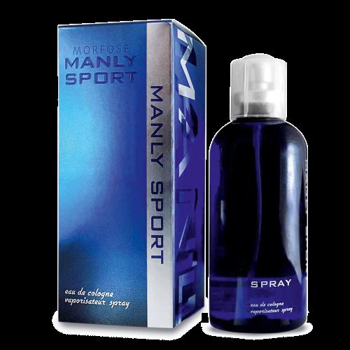 Чоловічий одеколон-спрей Sora Cosmetics Maciter Cosmetics Manly Sport 125 мл (4841003)