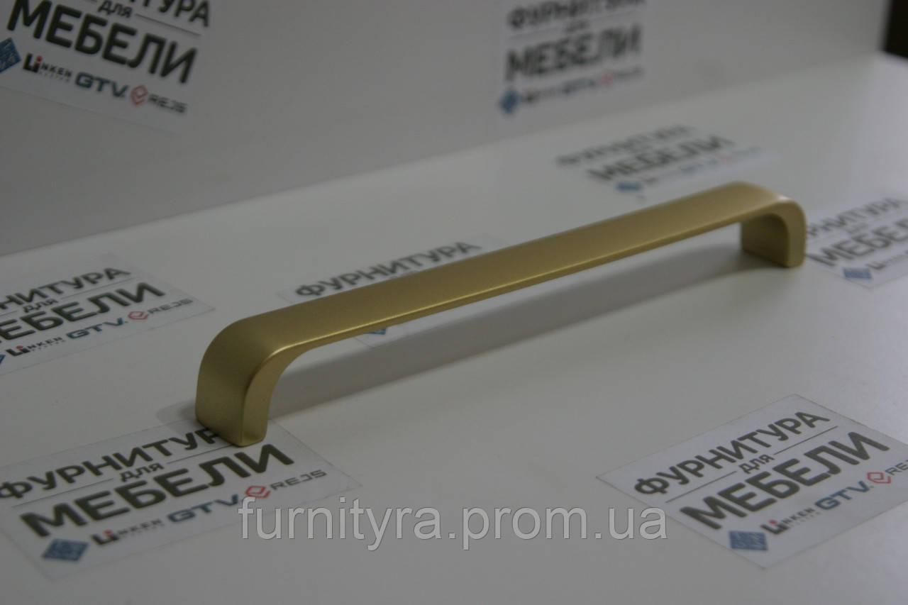 Ручка 160mm DOLUNAY Матовое Золото