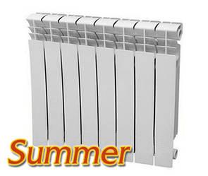 Біметалічний радіатор Summer 500/76