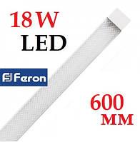 Светодиодный светильник plazma Feron AL5020 18W 4000К IP40 линейный 600 мм на 2 полосы
