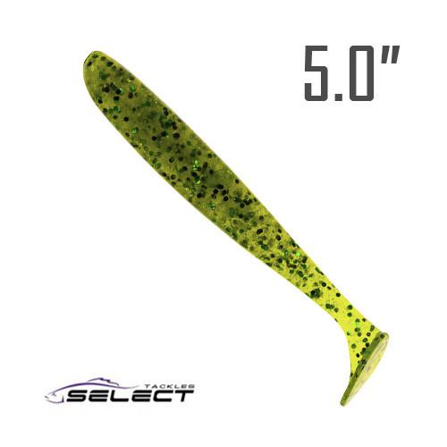 """Easy Shad 5"""" (125 мм.) 5 шт. Силикон Select 008"""