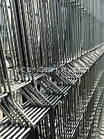 Заборная секция СТАНДАРТ цинк. Высота 1.2 м, длина 2,5м.