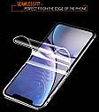 Гидрогелевая пленка для iPhone 7/8 Новинка ! Полиуретановая пленка комплет 2шт, фото 6