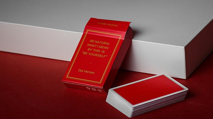 Карты игральные   Magic Notebook Red