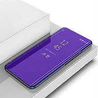 Чехол Mirror для Xiaomi Redmi 4X книжка зеркальный Purple