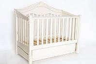 """Детская кроватка """"Victoria Premium"""" ( Белая ), фото 1"""