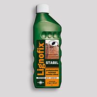 Антисептик-концентрат Lignofix-Stabil 1л. пропитка для дерева кровельная невымываемая бесцветный