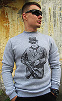 Свитшот мужской с рисунком Уинстон Черчиль