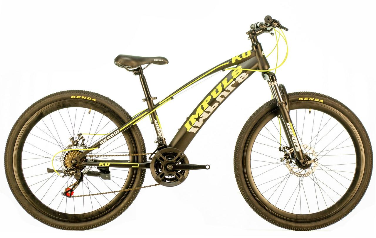 Велосипед Impuls Arrow 26 black/yellow