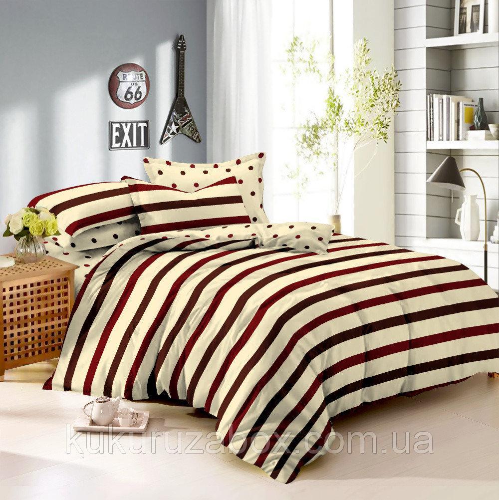 Семейный комплект постельного белья 150*220 из сатина Стиль