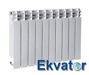 Біметалічний радіатор Ekvator 500/76