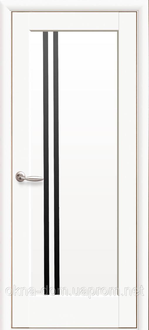 Двери межкомнатные Новый Стиль Делла ПП Premium BLK