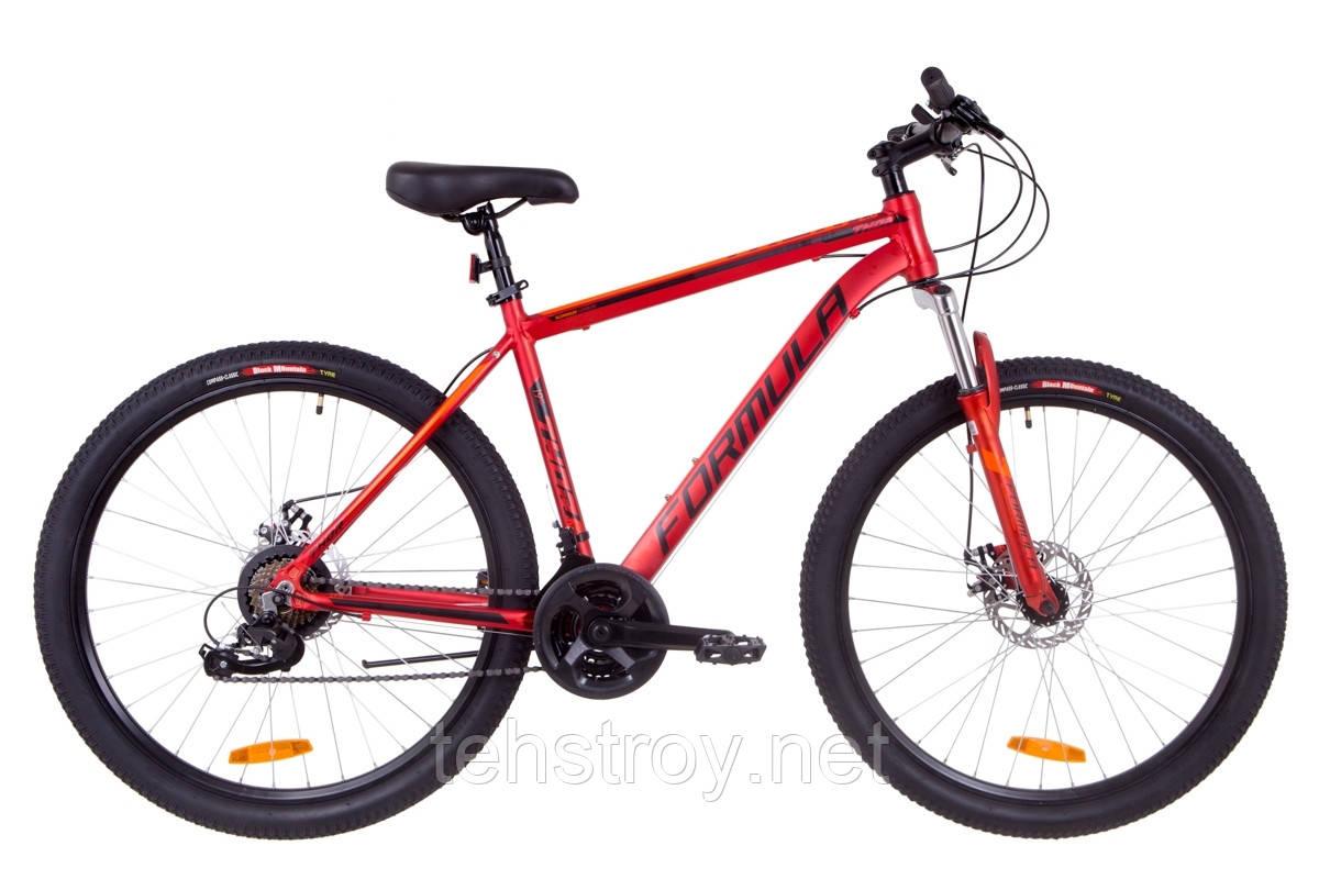 """Велосипед 27.5"""" Formula THOR 2.0 AM 14G DD Al 2019 (красный (м))"""