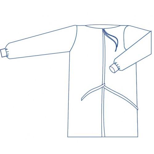 Халат одноразовий хірургічний р. 46-48 (М) стерильний