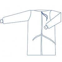 Халат одноразовый хирургический р. 46-48 (М) стерильный