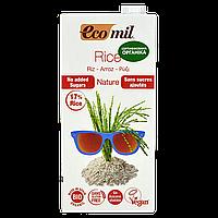 """Молоко """"Ecomil"""" растительное из РИСА без сахара органическое 1л (1ящ/6шт)"""