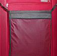 Большой тканевый чемодан CARLTON 072J372;73 красный, 85 л, фото 3