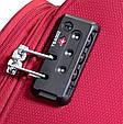 Большой тканевый чемодан CARLTON 072J372;73 красный, 85 л, фото 4