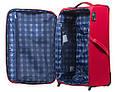 Большой тканевый чемодан CARLTON 072J372;73 красный, 85 л, фото 5