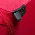 Большой тканевый чемодан CARLTON 072J372;73 красный, 85 л, фото 7