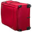 Большой тканевый чемодан CARLTON 072J372;73 красный, 85 л, фото 8