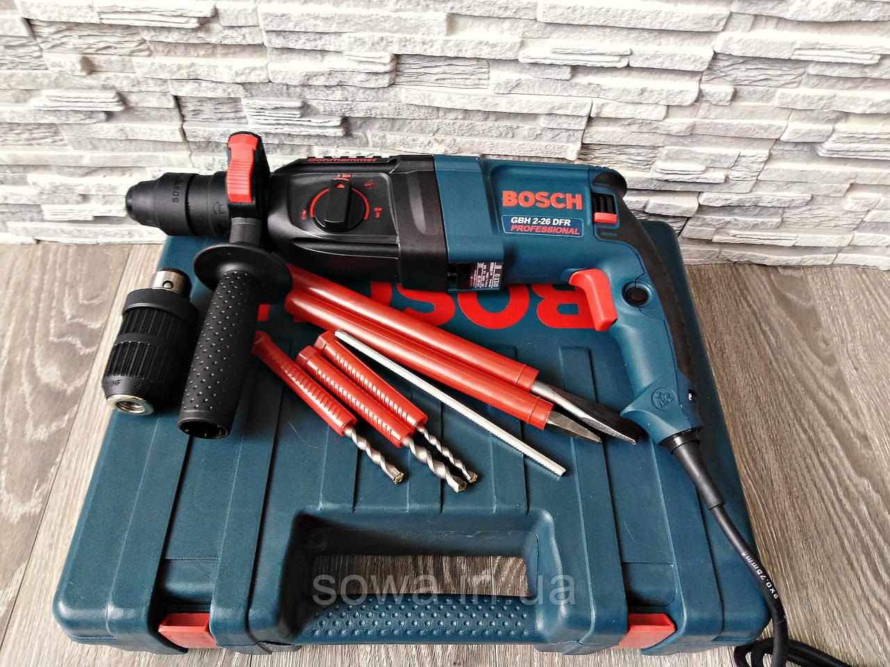 ✔️ Перфоратор Bosch GBH 2-26 DRE _ 800 Вт, 2.8 Дж, SDS-Plus _ Гарантия