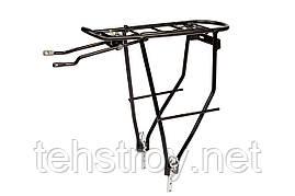 """Багажник """" Al регулируемое крепление KAIWEI KW-508-02 (черный)"""