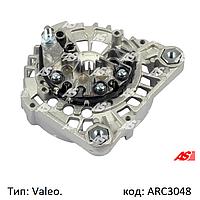 Диодный мост генератора на Renault, Opel, Nissan 1.5/1.9/2.2/2.5 дизель (D-DTi-DCi). ARC3048 (AS-PL)