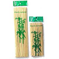 Палочки для шашлыка бамбуковые 25 см, 100 шт/ уп