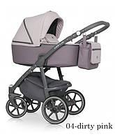 Детская универсальная коляска 2 в 1 Riko Marla - 04- dirty pink