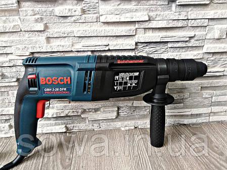 ✔️ Перфоратор Bosch GBH 2-26 DRE _  ( 800 Вт, 2.8 Дж, SDS-Plus ) _ Гарантия, фото 2