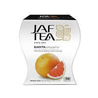 Чай чорний Грейпфрут Jaf Tea Pink Grape flavour black tea 100 гр.