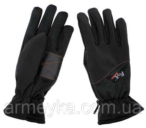 Перчатки fox outdoor, черные