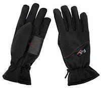 Перчатки fox outdoor, черные, фото 1