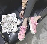 Белые недорогие летние кроссовки, фото 6
